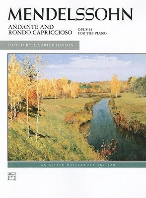 Adante And Rondo Caprice, Op. 14 By Mendelssohn, Felix (COP)/ Hinson, Maurice (EDT)